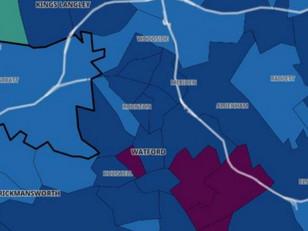 Coronavirus hotspots around Watford as we move to Tier 3
