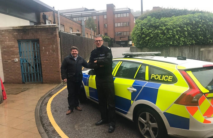 Dean Russell joins Watford Police on a r