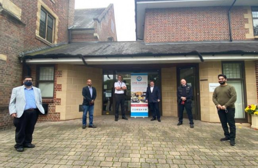 Dean Russell MP Watford becomes trustee of One Vision