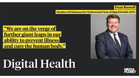Dean Russell MP: How digital health is making science fiction a reality