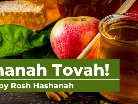Shanah Tovah and Chag Sameach