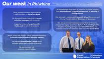 My Week in Rhiwbina