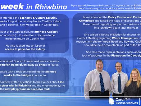 Our Week in Rhiwbina