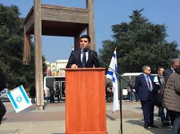 Watch: Gilad Kabilo, an IDF reserve soldier, delivers a powerful speech outside UNHRC in Geneva