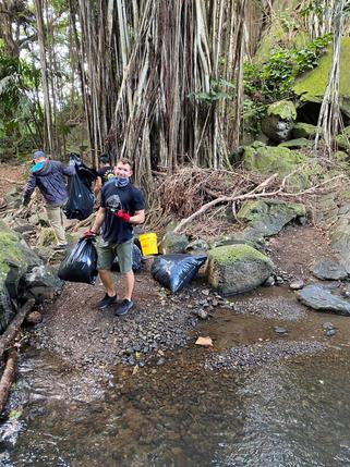 nuuanu clean up hiclimb