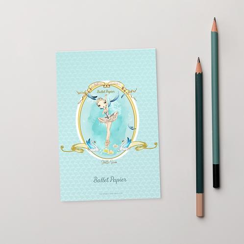 Odette Swan Postcard