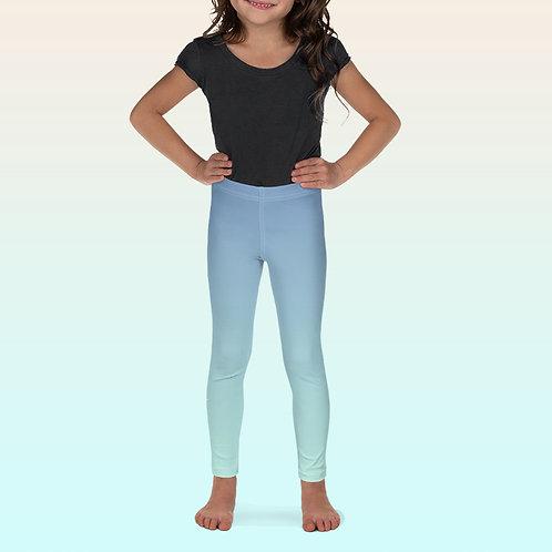 Blue / Turquoise Kid's Ballet Leggings