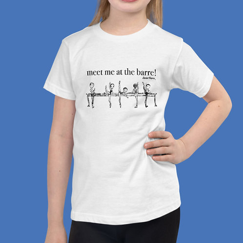 At The Barre Girl T-shirt