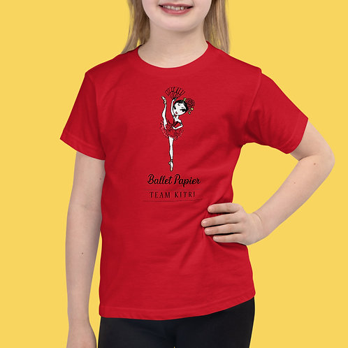 Team Kitri Essentials Girls T-shirt   2 to 6 years old sizes