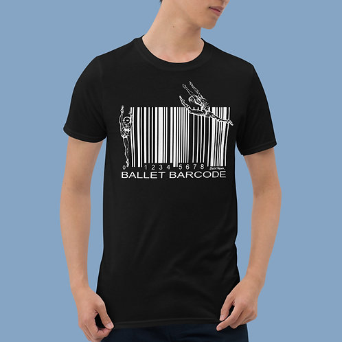 Ballet Barcode Unisex T-shirt   3 colors available