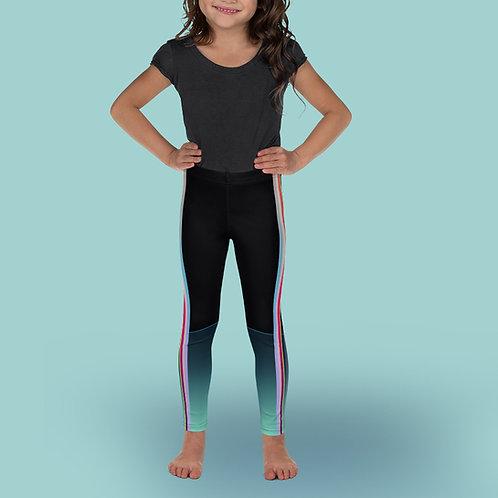 Iridescent / Mint - Girl Ballet Leggings
