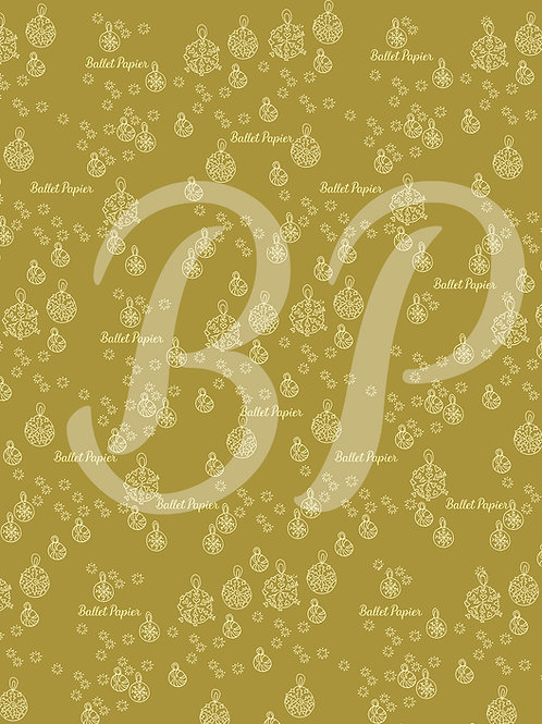 Patterned Sheet for Christmas decoration 1