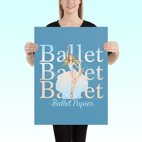 Ballet Pearl Poster