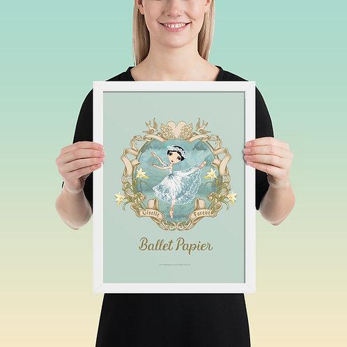 Giselle Forever Framed Poster