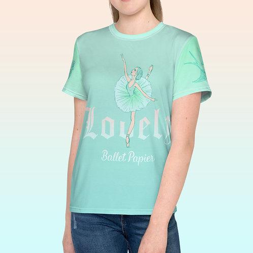 Lovely Ballerina Young- Women t-shirt