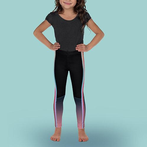 Iridescent / Pink - Girl Ballet Leggings