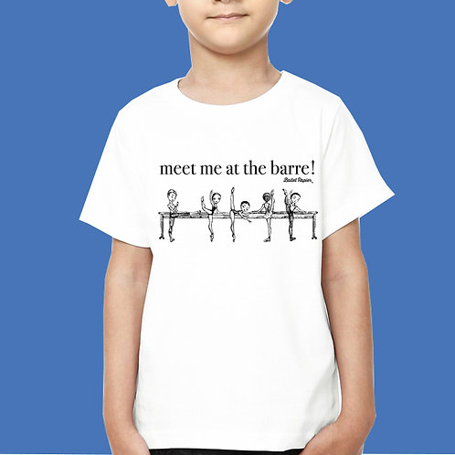 At The Barre Kids T-shirt | 2 to 6 years old sizes