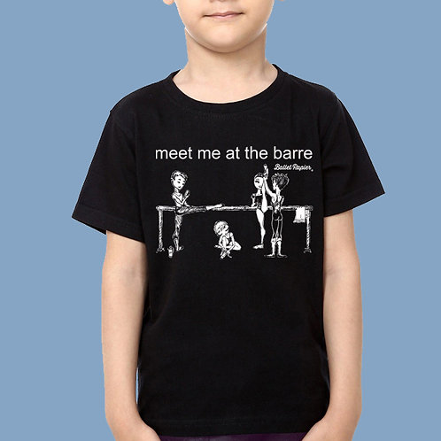 Meet Me At The Barre Kids | 2 to 6 years old sizes