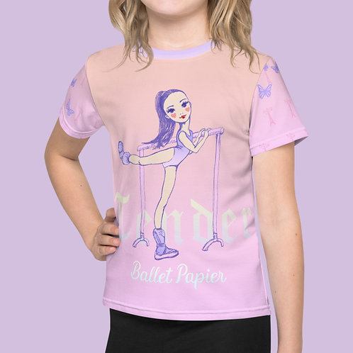 Tender Ballerina Girl T-shirt