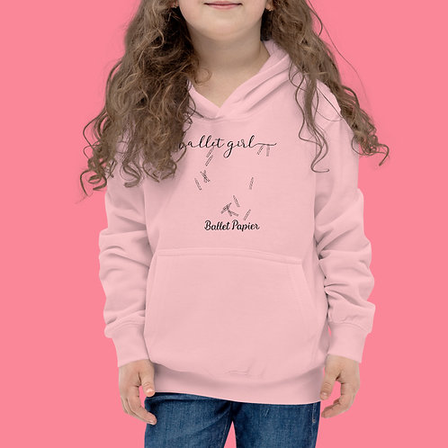 Ballet Girl Hoodie | from 3 years old to XS adult size