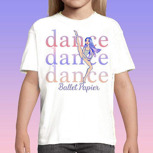 Dance Girl Tee | 2 to 5 years old
