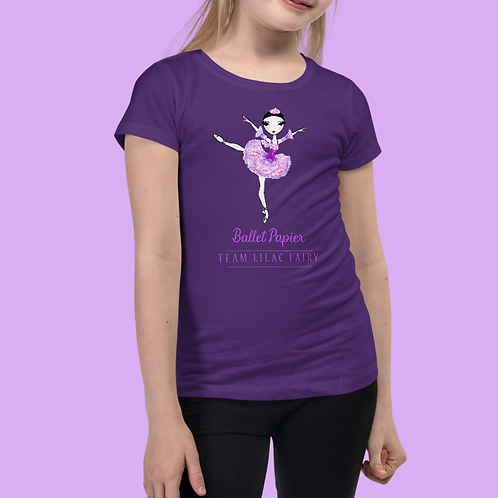 Team Lilac Fairy Essentials Girls T-shirt