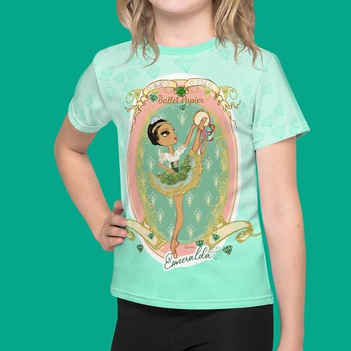 Team Esmeralda Girls T-shirt | 2 to 7 years old sizes