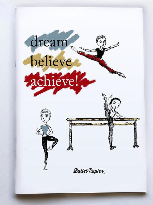 Ballet Boy Notebook A4
