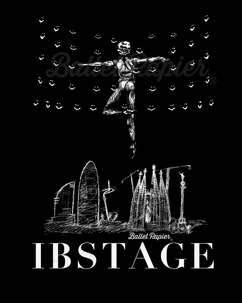 Ballet Papier design for IBStage