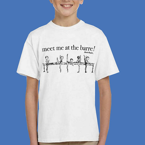 At The Barre Junior Unisex T-shirt