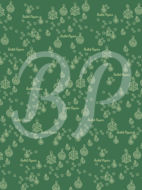 Patterned Sheet for Christmas decoration 3