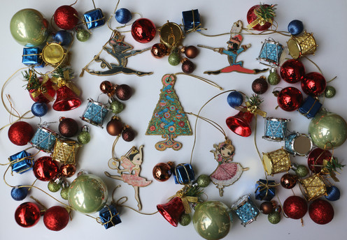 The Nutcracker Christmas Ornament Pack