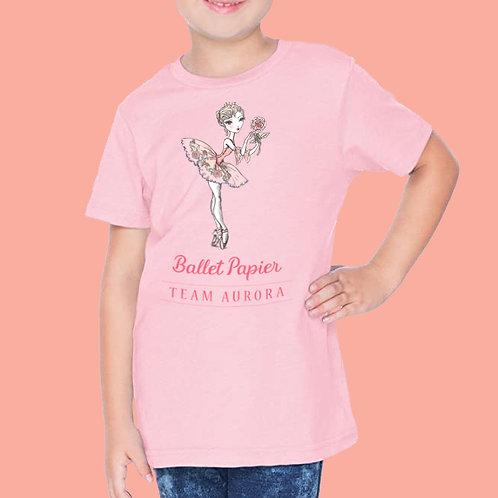 Team Aurora Essentials Girls T-shirt | 2 to 5 year old sizes