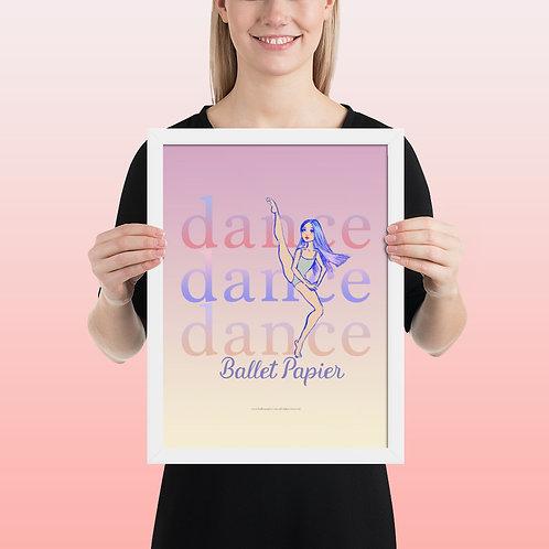 Dance Frame Poster