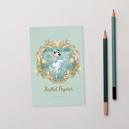 Giselle Forever Postcard