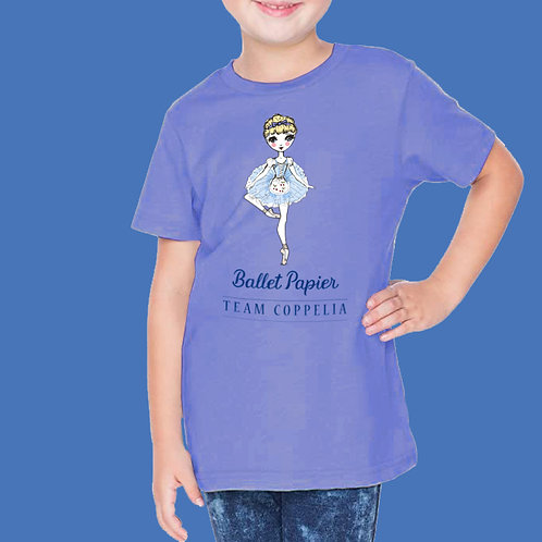 Team coppelia Essentials  Girls T-shirt | 2 to 5 year old sizes