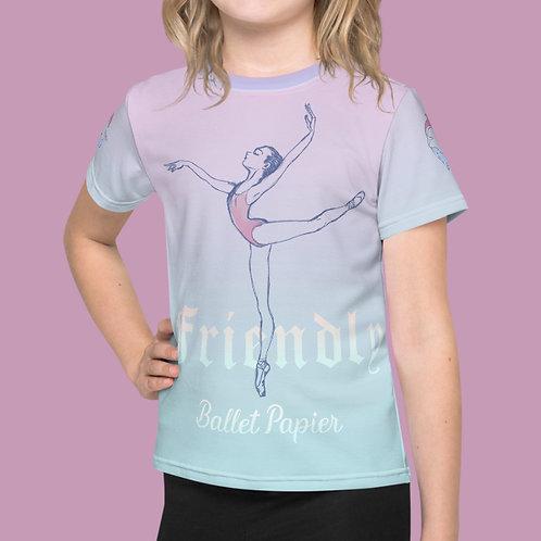 Friendly Ballerina Girl T-shirt