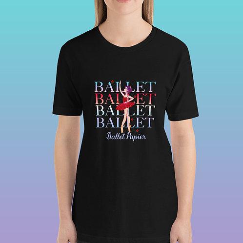 Rose Ballet Women T-Shirt