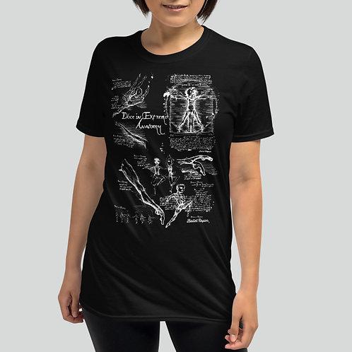 Dance Anatomy Unisex T-shirt