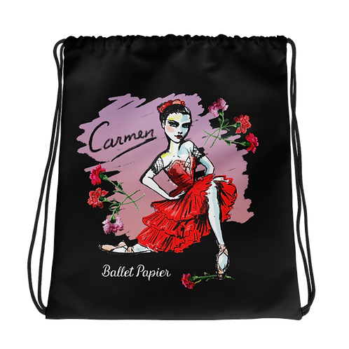 Carmen Drawstring Bag