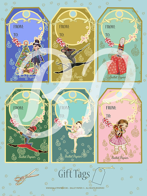 The Nutcracker Gift Tags 1
