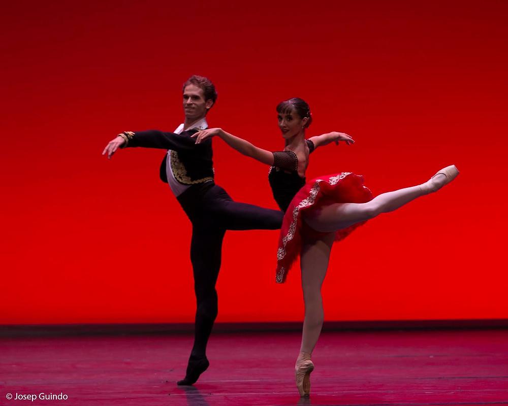 Rebecca Storani y Dmitry Zagrebin. Foto: Josep Guindo