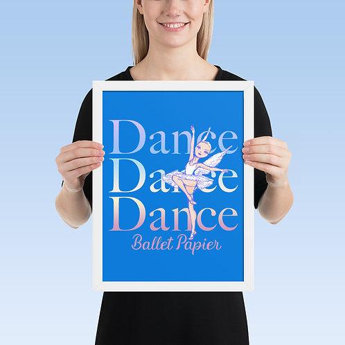 Dance Angel Framed Poster