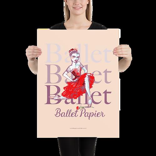 Ballet Carmen Poster