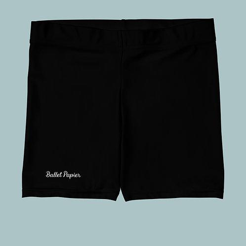 Ballet Papier Black Shorts