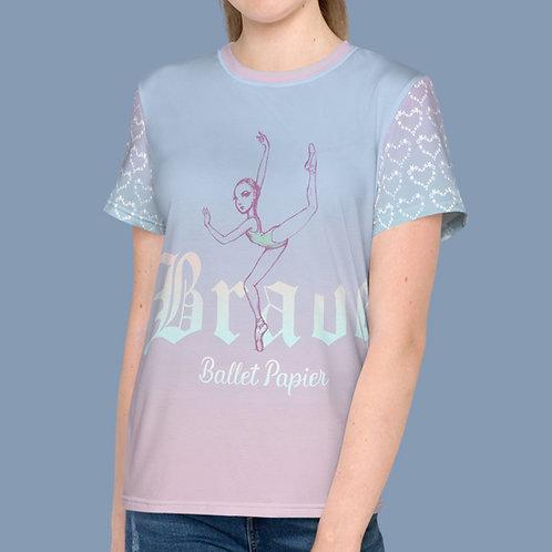 Brave Ballerina Youth-Women t-shirt