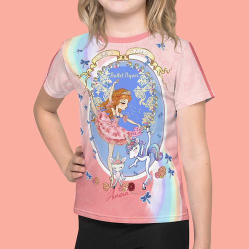 Team Aurora Girls T-shirt | 2 to 7 years old sizes