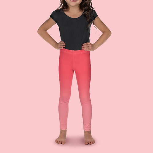 Cherrie / Gold Kid's Ballet Leggings
