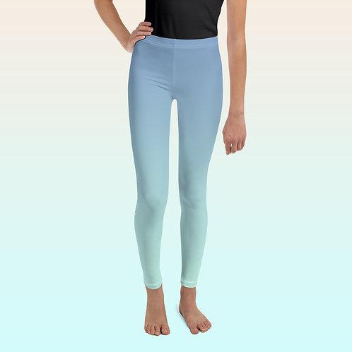 Blue / Turquoise Ballet Leggins