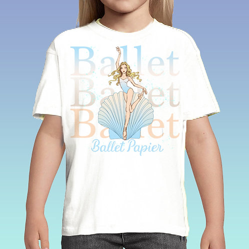 Ballet Pearl Girl Tee | 2 to 5 years old